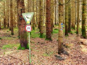 Fahradfahren verboten
