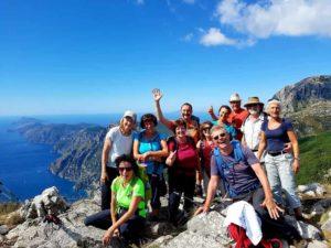 Wanderung an der Amalfikueste