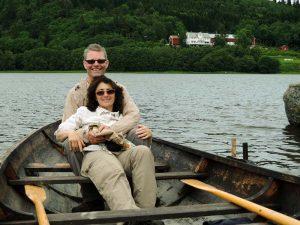 Mit meiner Frau